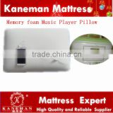 Comfortable music player memory foam pillow