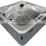 Double lounges jetted tub shower combo whirlpool hot tub in feet price with UV System