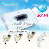 Electroporation no needle mesotherapy skin care machine