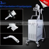 Lingmei popular home or salon or clinic use cryolipolysis rf cavitation anti cellulite venus freeze machine