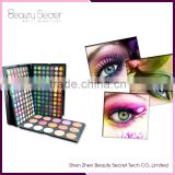 183 color kiss beauty eyeshadow packaging oem eyeshadow Blush and Contour Makeup Palette