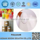 Whiteness 70-90 food additives pullulan powder for fruit and vegetable juice