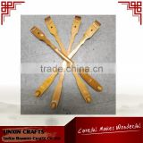 personalized bamboo back scratcher for massage with one massage ball for Australia