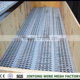 crocodile mouth perforated steel plank/skidproof sheet