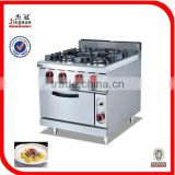 Restaurant Equipment Gas Stove with Gas Oven GH-987A
