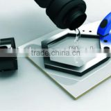Suction drill guide, Diamond drill guide, Professional Cooling & Drill Guide W/Soft Grip handle,