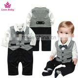 2016 Kids Summer and autumn clothing gentleman boy clothes sets boys casual outfits LBO20160104-1