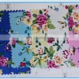 China Direct Factory Printing Spandex Fabric for garment,coat,skirt