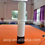 Customize store decoration inflatable light tube with logo inflatable pillar for advertising