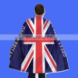 Adults Union Jack Flag Great Britain Body Cape London flag cape