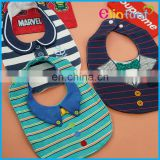 Elinfant 100%cotton waterproof grande toilette baby infant bibs