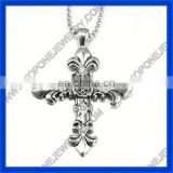 2014 best stainless steel hot large cross pendants costume jewelry China gold supplier