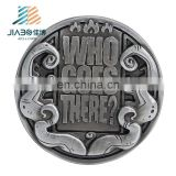 Custom Safety Reflective Round Metal Souvenir Coin Badges Commemorative Coin Pin Challenge Coins