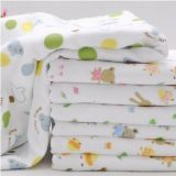 cotton gauze bath towel for baby 93x85cm