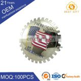 Manufacture OEM ODM custom personalized sheriff secret service badge