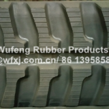 Construction Machinery Parts Excavator  Rubber Crawler Track