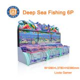 Zhongshan Amusement redemption Deep Sea Fishing 6P Shooting Fish Machine coin operated