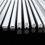 Waterproof Profile Plastic PVC U profile  Profile for LED strip light
