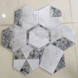 26X30CM Porcelain Painted Grey Hexagon Tile