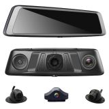 360 Degree Android 4G 4 Lens GPS Navi Car DVR Dash Mirror Camera with Adas WiFi Bt 4.0