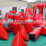 2016 wholesale inflatable air paintball bunkers,inflatable sport games,inflatable paintball area