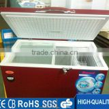 300L ice bag storage chest freezer CE and CB approval