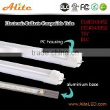 DLC UL rated 3000K 4000K 5000K 6000K milky/clear cover 18w t8 led tube 4ft to replce T8 T10 T12 fluorescent tubes