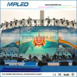 Round shape/curved shape/arc shape outdoor mobile led board no ghost black led chip and white led chip
