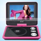 hot sellingdvd&evd portable dvd 3 in one card, USB interface, TV interface, double game interface portable dvd player