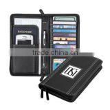 High quality travel documents organizer with phone holder