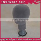 Multipurpose plastic male mannequin head
