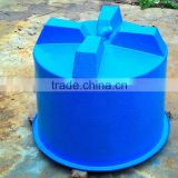 Fiberglass FRP tank for aquaculture fish farm