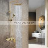 Solid Brass Surface Mounted Chrome Finished Bathroom Hot and Cold Water Mixer Shower SM009A
