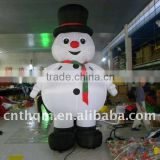 inflatable advertising Christmas Replica, Custom Inflatable Santa Claus Arch, Promotion Inflatable Cartoon