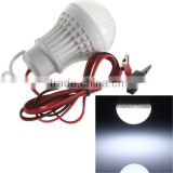 Plastic low voltage energy saving led lamp E27 B22 12v dc light bulb