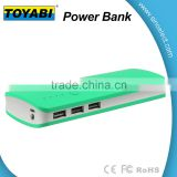Colorful Power Bank 10000mAh Portable Rechargeable Ultrathin 3 USB Power Bank External Battery Charger Pack for Phones
