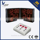 One side shot clock /LED display /Basketball scoring device/led display world clock                                                                         Quality Choice