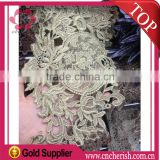 2016 original color 13cm jute flower lace DIY bridal lace for women clothing                                                                         Quality Choice