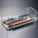 Beatiful design clear lucite pen display