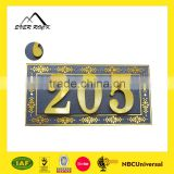 Custom Metal Clothing Labels Jeans Metal Label And Tags For Handbags Metal Plate For Clothing