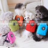 New design colorful small pet god outdoor travel backpack, pet food bag