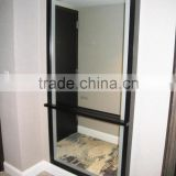 Wood Framed Bathroom Backlit Mirror with Concealed LED Light                                                                         Quality Choice