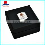 Custom Print Rigid Paperboard Black Cardboard Boxes