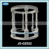 stone western patio gazebo with pillar JS-GZ022