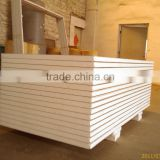 Easy to installation EPS foam and Metal insulation board type for fencing material on building site