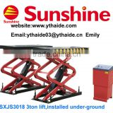 **SXJS3018 auto scissor lift/tire shop equipment