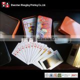 Customized Playing Cards With Tin Box Packing(Custom Front And Back Side)