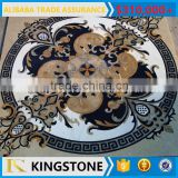 marble complicated pattern marble waterjet medallion for floor