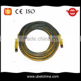 Alibaba with linen and PU surface for 580 car washer diameter 8 high pressure wire braided rubber hose