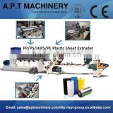 Single-layer PP/HIPS/GPPS Sheet Plastic Extruder/Plastic Sheet Extrusion Line
